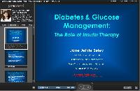 Diabetes & Glucose Management; Insulin Therapy