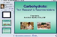 Carbohydrates - From Research to Recommendations