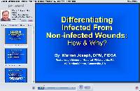 Differentiating Infected From Non Infected Wounds - How & Why - Part 1 - Diagnosis