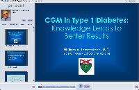 CGM in Type 1 Diabetes: Knowledge Leads to Better Results